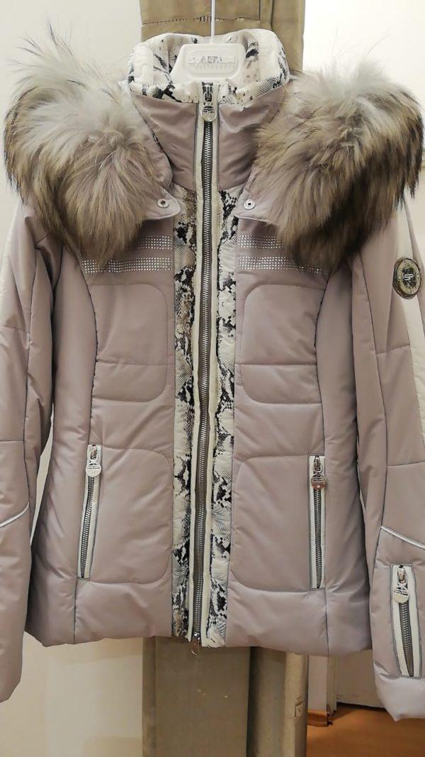 Женская куртка с мехом KIRANA 87190-75 - фото 1