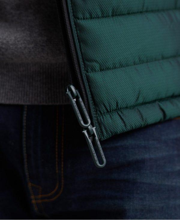 Мужской жилет Superdry Double Zip Fuji - фото 7