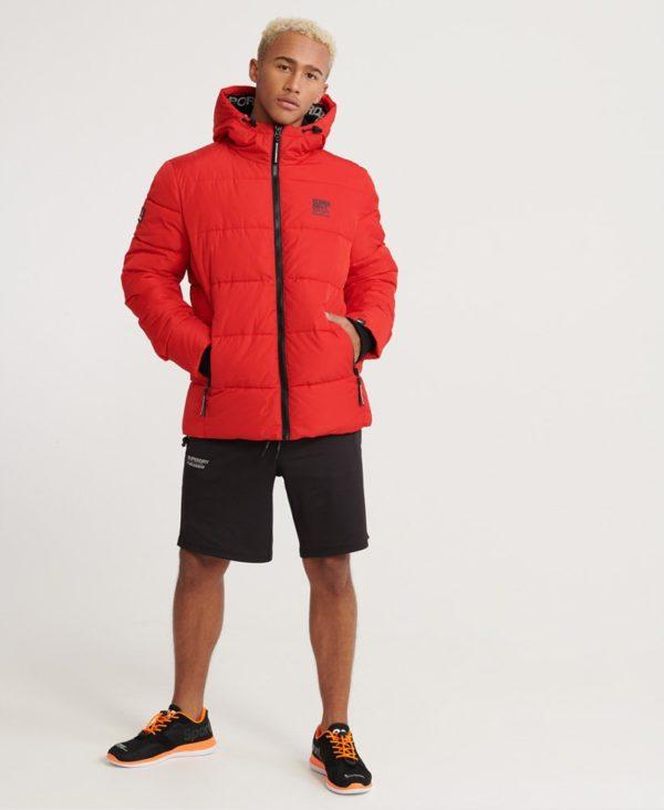 Мужская куртка Superdry Taped Sports Puffer - фото 4