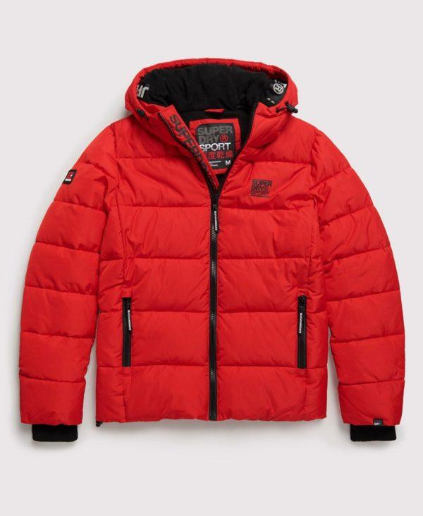 Мужская куртка Superdry Taped Sports Puffer - фото 1