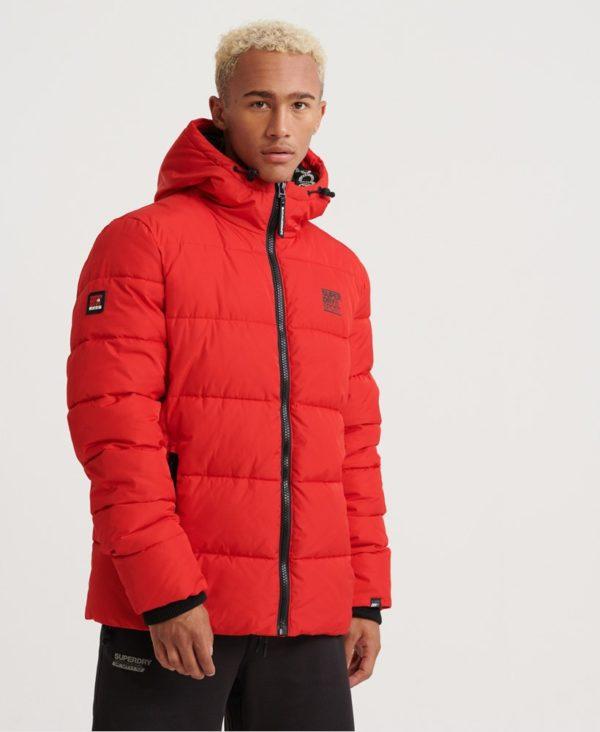 Мужская куртка Superdry Taped Sports Puffer - фото 3
