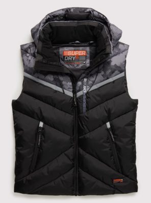 Мужской Жилет Superdry Digitize Reflective - фото 8