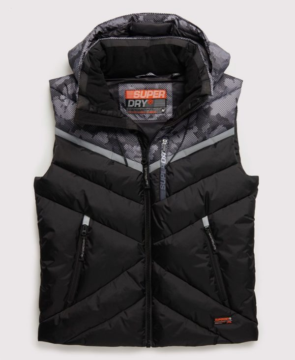 Мужской Жилет Superdry Digitize Reflective - фото 1