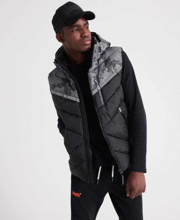 Мужской Жилет Superdry Digitize Reflective - фото 4