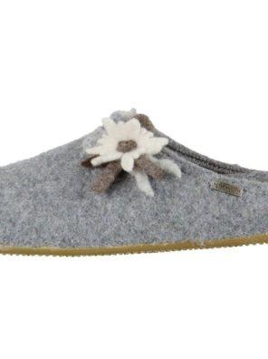 Тапочки Living Kitzbühel Edelweiß mit Fußbett Flache Hausschuhe - фото 29