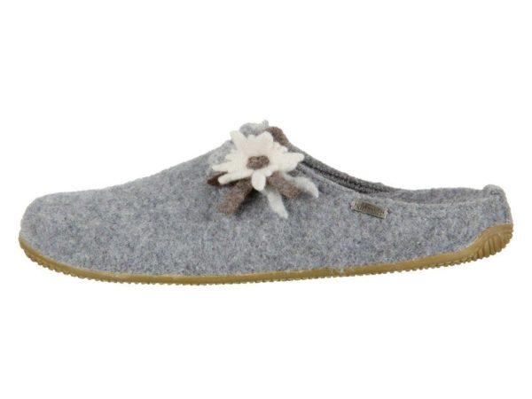 Тапочки Living Kitzbühel Edelweiß mit Fußbett Flache Hausschuhe - фото 1