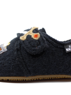 Тапочки Living Kitzbühel slippers phantom with Vikings - фото 2