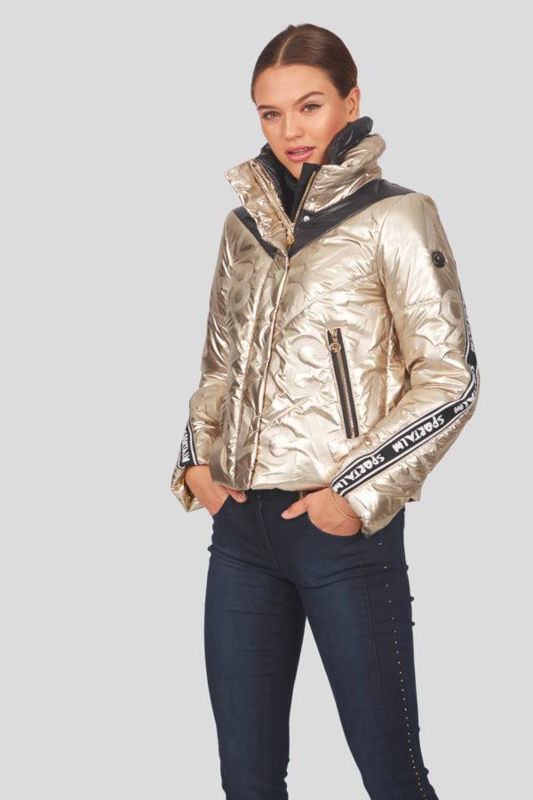 Женская куртка Sportalm с воротником-стойкой - фото 2
