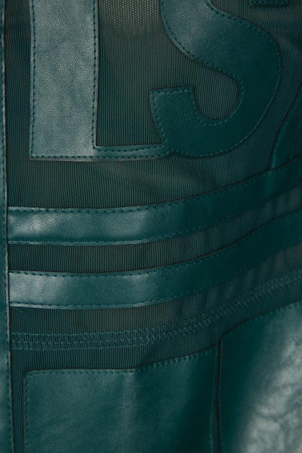 Женская куртка Sportalm из искусственной кожи зеленый - фото 5