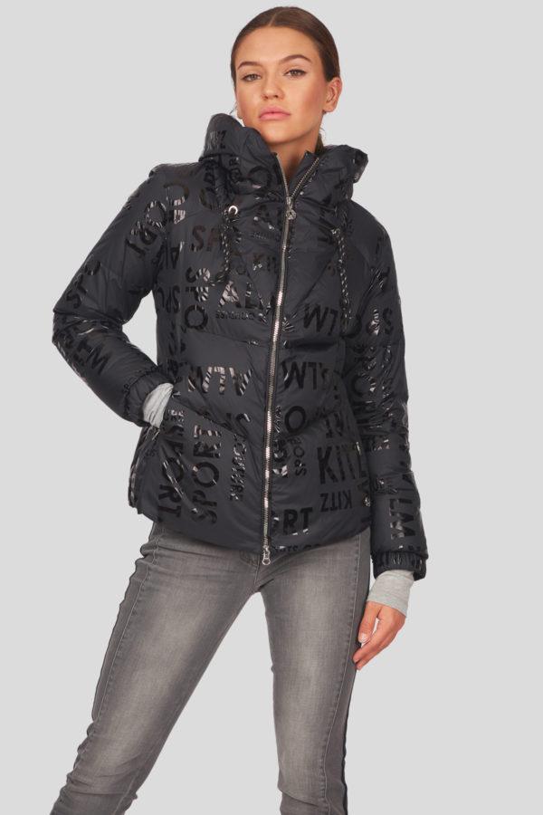 Женская куртка Sportalm с эффектом металлик - фото 2