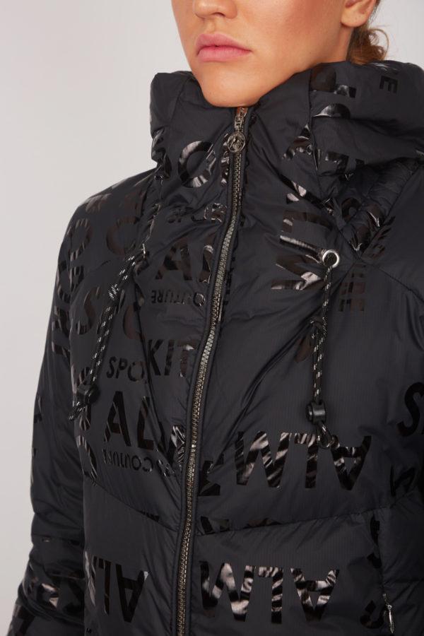 Женская куртка Sportalm с эффектом металлик - фото 5