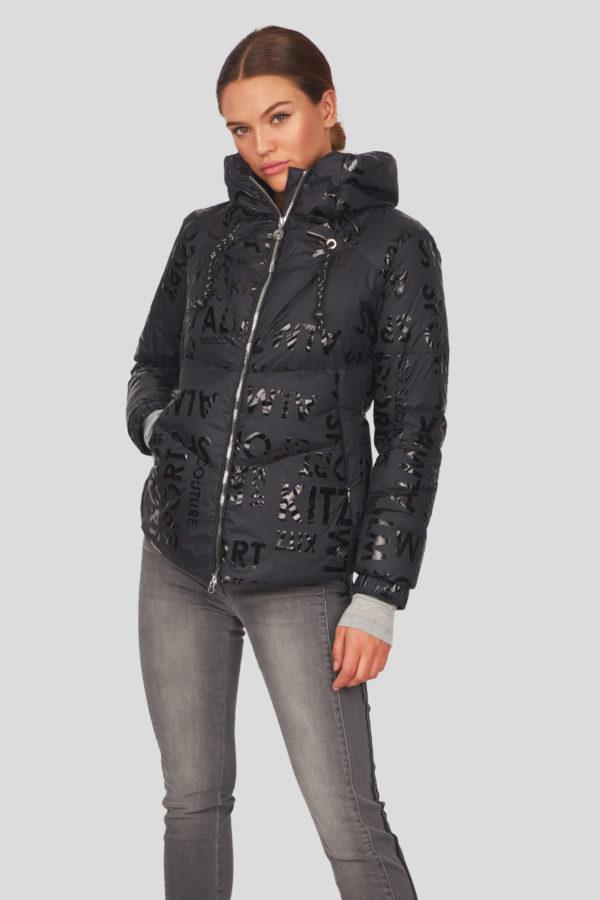 Женская куртка Sportalm с эффектом металлик - фото 7