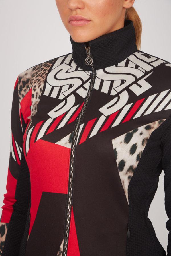 Женская куртка Sportalm из эластичного материала - фото 5