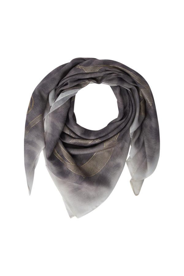 Женский модный шарф в леопардовом стиле - фото 1