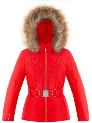 Детская куртка для девочки W20-1003-JRGL/A (с искусственным мехом) - фото 8