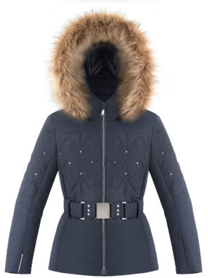 Детская куртка для девочки W20-1003-JRGL/A (с искусственным мехом) - фото 11