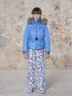 Детская куртка для девочки W20-1002-JRGL/A (с искусственным мехом) - фото 21
