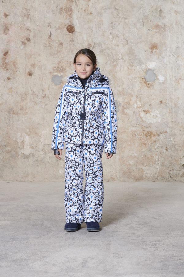 Детская куртка для девочки W20-1002-JRGL/A (с искусственным мехом) - фото 5
