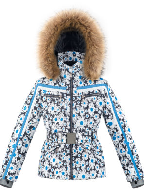 Детская куртка для девочки W20-1002-JRGL/A (с искусственным мехом) - фото 11