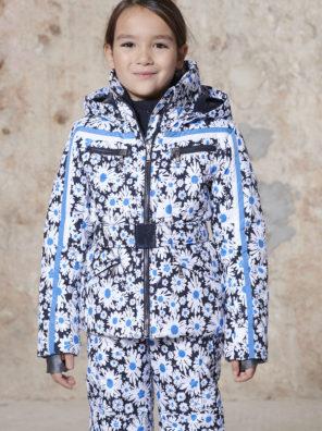 Детская куртка для девочки W20-1002-JRGL/A (с искусственным мехом) - фото 12