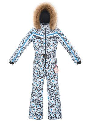 Детский комбинезон для девочки W20-1031-JRGL/A (с искусственным мехом) - фото 7