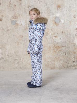 Детский комбинезон для девочки W20-1031-JRGL/A (с искусственным мехом) - фото 8