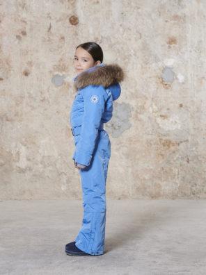 Детский комбинезон для девочки W20-1031-JRGL/A (с искусственным мехом) - фото 6