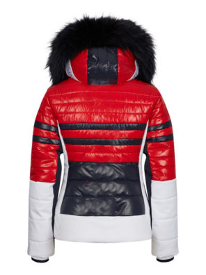 Женская куртка с мехом 30142-41 - фото 16