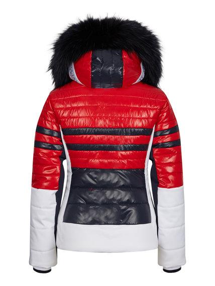 Женская куртка с мехом 30142-41 - фото 2
