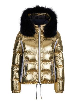 Женская куртка с мехом 27412-61 - фото 9