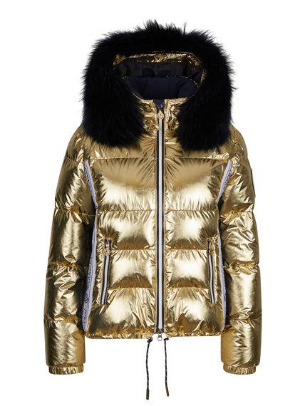 Женская куртка с мехом 27412-61 - фото 1