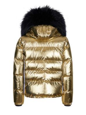 Женская куртка с мехом 27412-61 - фото 16