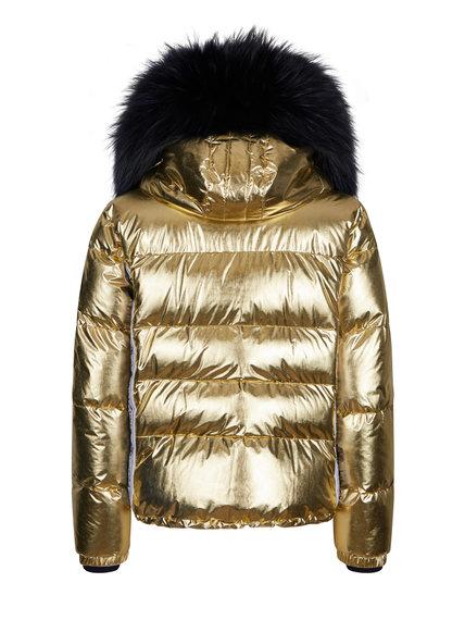 Женская куртка с мехом 27412-61 - фото 2