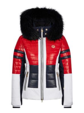 Женская куртка с мехом 30142-41 - фото 15