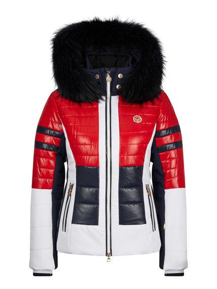 Женская куртка с мехом 30142-41 - фото 1