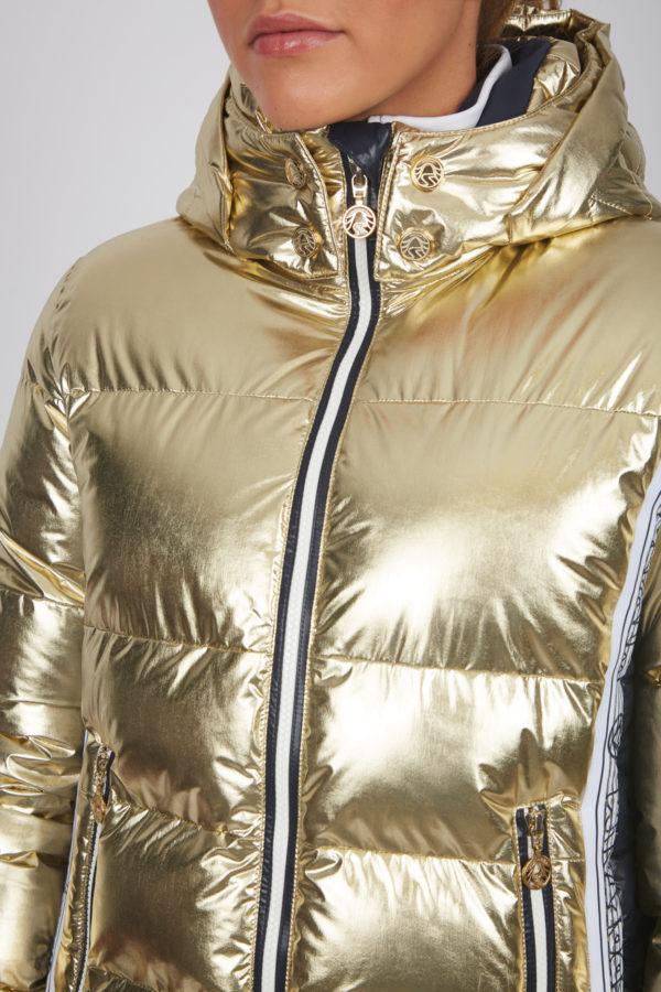 Женская куртка с мехом 27412-61 - фото 4