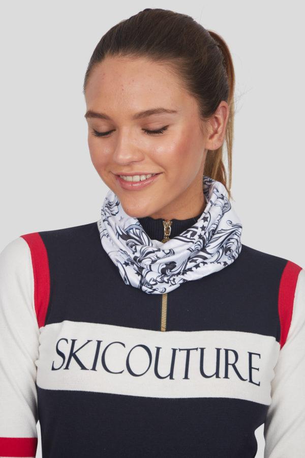 Женский шарф 11925-29 - фото 4