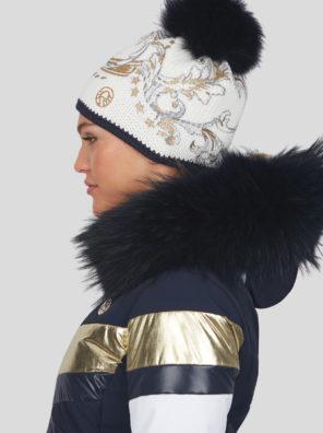Женская шапка 28814-01 - фото 18