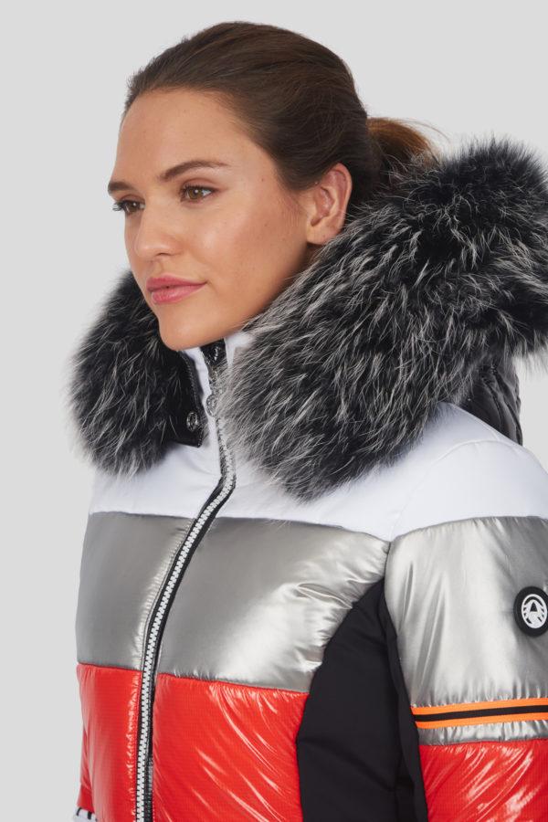 Женский мех для куртки - фото 2