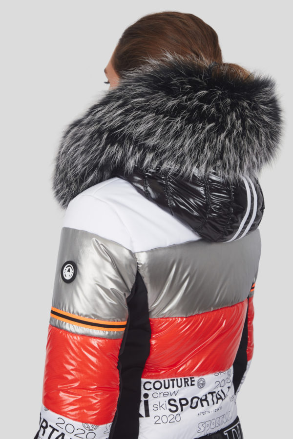 Женский мех для куртки - фото 4