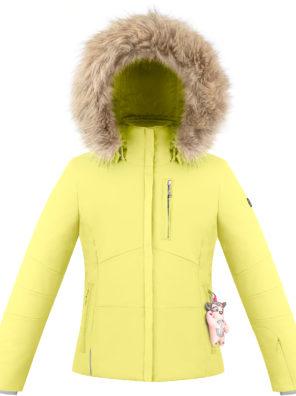 Детская куртка для девочки W20-0802-JRGL/A (искусственный мех) - фото 3
