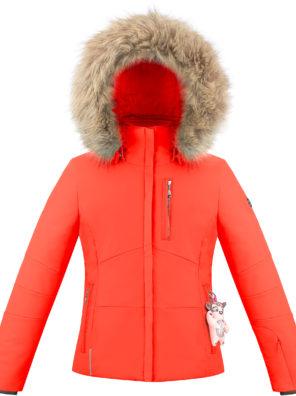 Детская куртка для девочки W20-0802-JRGL/A (искусственный мех) - фото 9