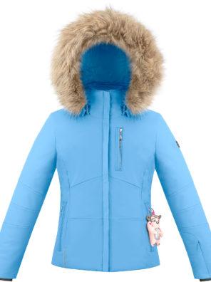 Детская куртка для девочки W20-0802-JRGL/A (искусственный мех) - фото 5