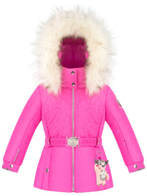 Детская куртка для девочек W20-1003-BBGL/A (искусственный мех) - фото 7