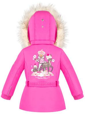 Детская куртка для девочек W20-1003-BBGL/A (искусственный мех) - фото 8