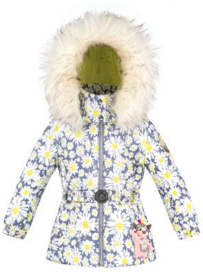 Детская куртка для девочек W20-1003-BBGL/A (искусственный мех) - фото 5
