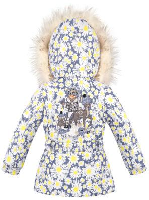 Детская куртка для девочек W20-1003-BBGL/A (искусственный мех) - фото 6