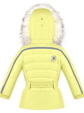 Детская куртка для девочек W20-1002-BBGL/A (искусственный мех) - фото 4