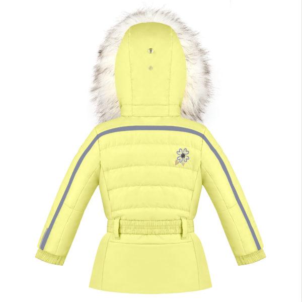 Детская куртка для девочек W20-1002-BBGL/A (искусственный мех) - фото 2