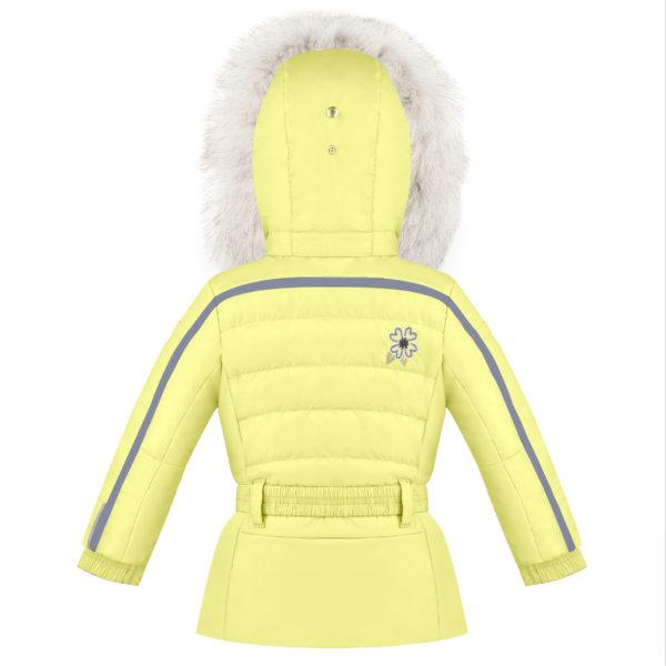 Детская куртка для девочек W20-1002-BBGL/A (натуральный мех) - фото 2
